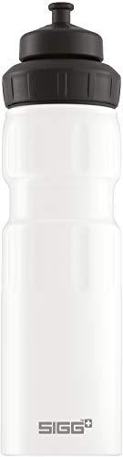 SIGG WMB Sports White Touch Sport Trinkflasche (0.75 L), schadstofffreie...