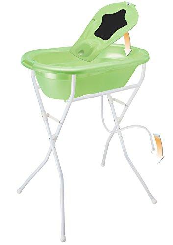 Rotho Babydesign Badelösung TOP / Babybadewanne mit Ständer 98 cm hoch,...