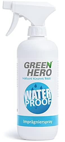 Green Hero Imprägnierspray für Textilien und Leder, 500 ml, Ohne...