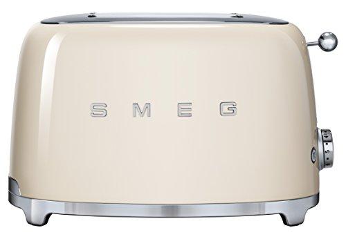 Smeg TSF01CREU Toaster 2 Scheiben, creme