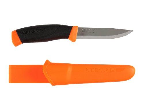 Morakniv Messer - Companion - rostfreier Sandvik Stahl 12C27 - zweifarbiger...
