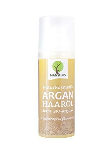 Bio Arganöl Haaröl mit frischen, fruchtigen Duft - Argan Körperöl...
