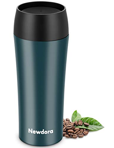 Newdora Thermobecher,Kaffee to go 380ml Becher Travel Mug Isolierbecher...