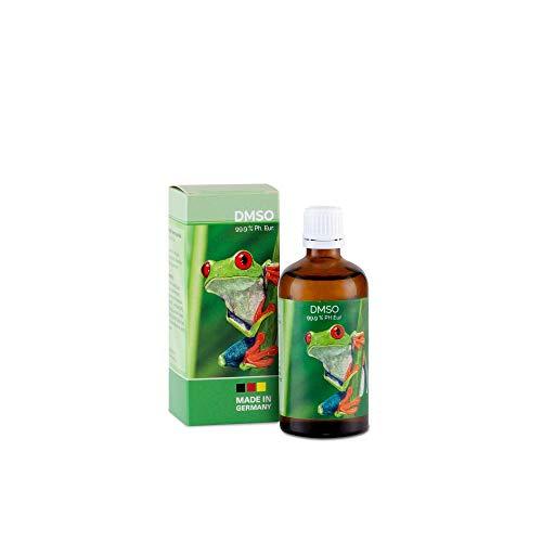 DMSO - 99,9% pharmazeutische Reinheit in der Braunglasflasche mit...