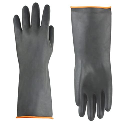 Handschuhe Säurefest Lang-Chemikalien Schutz Handschuhe-Säure-und...