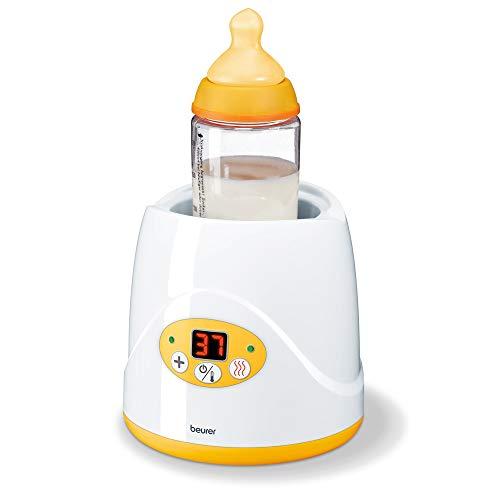 Beurer BY 52 Babykost- und Fläschchenwärmer, zum Erwärmen und Warmhalten...
