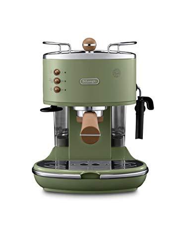 De'Longhi Icona Vintage Espresso Siebträgermaschine KBOV2001.GR - mit...