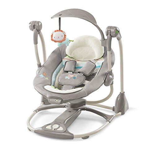Ingenuity, Candler 2 in 1 Babyschaukel und -sitz, zusammenklappbar, mit...