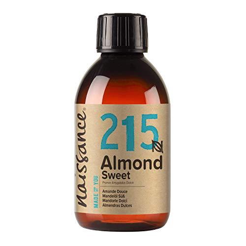 Naissance natürliches Mandelöl süß (Nr. 215) 250ml - Vegan,...