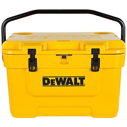 De Walt DXC25QT DeWALT 25QT Roto Molded Cooler Kühlbox, Gelb, 23.6 L