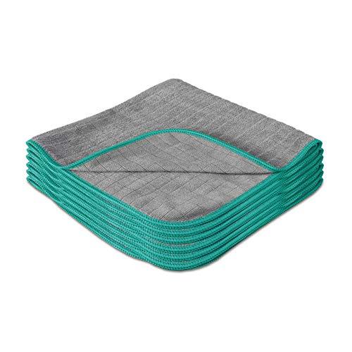 Lavandola® Mikrofasertücher für Ihren Haushalt 6 Stück 40x40cm –...