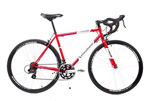 GIORDANO 28 Zoll Retro Rennrad Fahrrad Race Bike Shimano 14 Gang Stahl Rh...