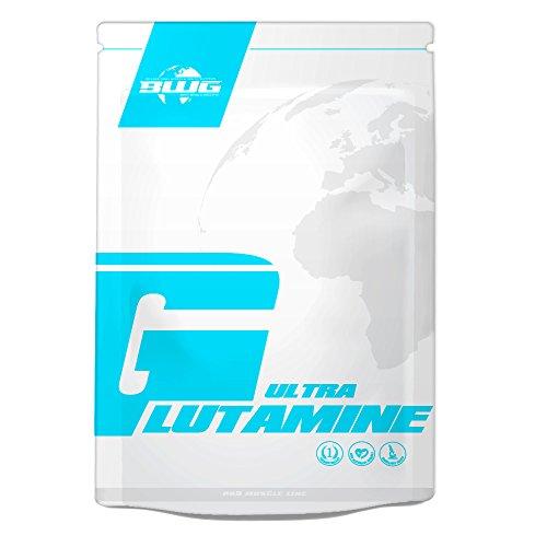 BWG 100% L-Glutamine Ultrapure Pulver, In Deutscher Premiumqualität...