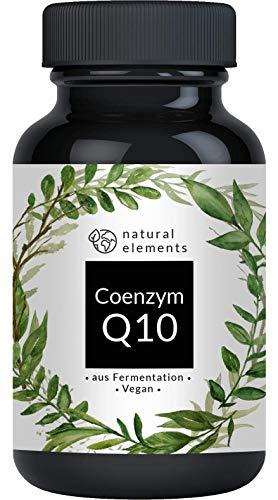 Coenzym Q10-200mg pro Kapsel - 120 vegane Kapseln - Hochwertiges Q10 aus...