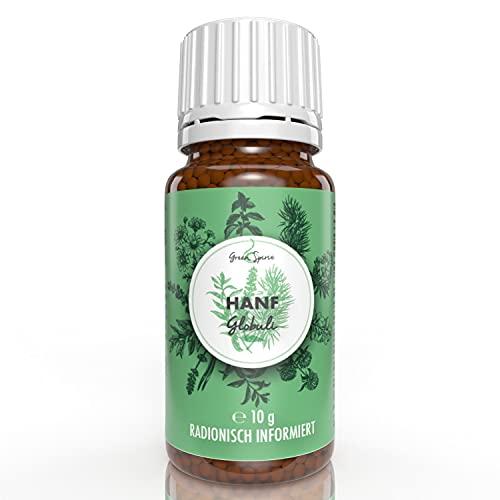 Hanf Globuli in Potenz D6 - die echte Alternative zu Öl, Tropfen, Blüten...