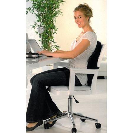 Rückenkissen Rückenstützkissen für Bürostuhl Chefsessel...