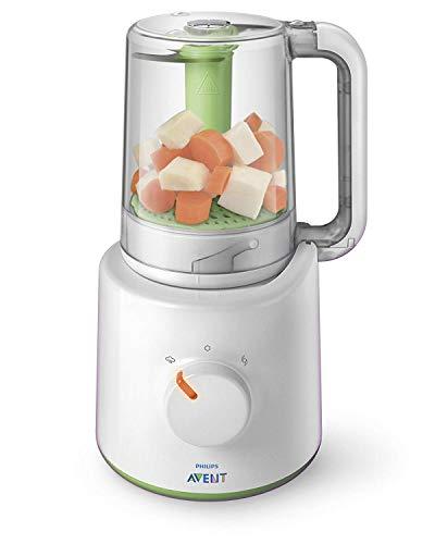 Philips Avent 2-in-1 Babynahrungszubereiter SCF870/20, Dampfgaren und...
