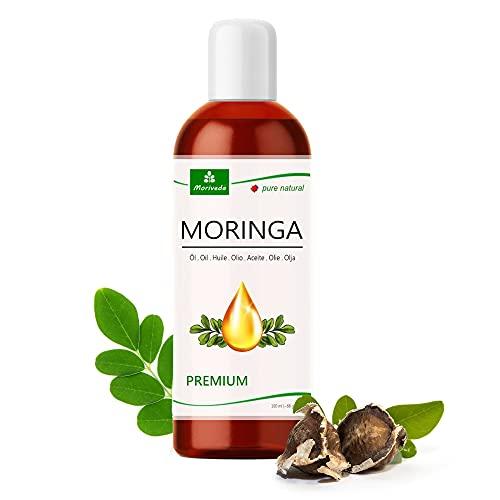 MoriVeda® - Moringa Öl Premium 100ml, kalt gepresst aus Qualitätssamen....