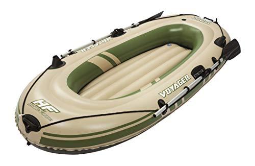 Bestway Hydro-Force Voyager 300 Set, Schlauchboot für zwei Personen,...