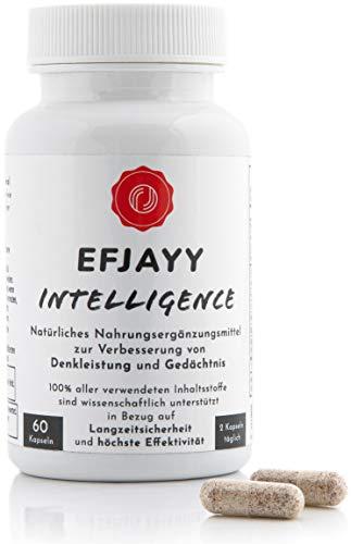 EFJAYY® Intelligence – 100% Natürlicher Brain Booster für...