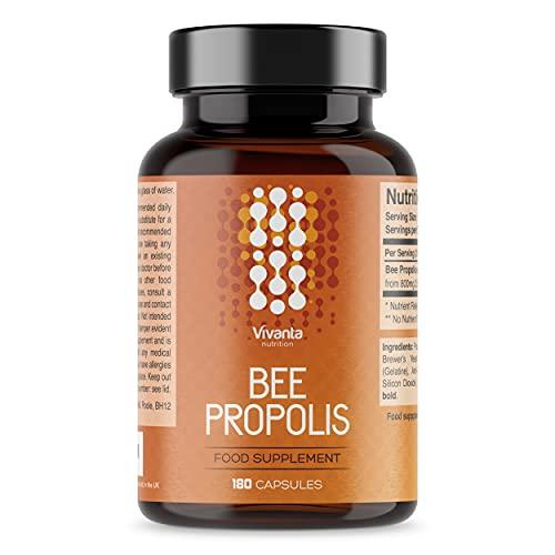 Bienen Propolis – 1000 mg x 180 Kapseln – Bee Propolis - Bienenpropolis...