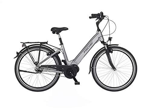 Fischer Unisex– Erwachsene E-Bike City CITA 4.0i, quarzgrau matt, 26...