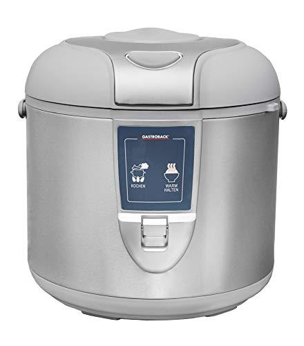 Gastroback 42507 Design Reiskocher, Abschalt-und Warmhaltefunktion, 3...