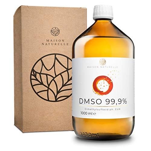 MAISON NATURELLE ® DMSO (1000 ml) – 99,9% pharmazeutische Reinheit –...