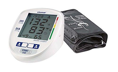 visomat double comfort - Blutdruckmessgerät Oberarm, präzise 2-fach...