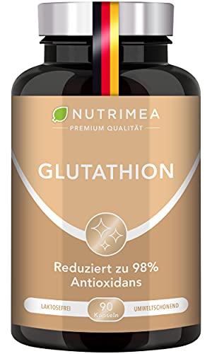 L-GLUTATHION reduziert zu 98% | Optimale Formel mit Vorläufern + Vitamin C...