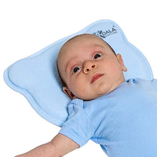 Babykissen Plagiozephalie, abnehmbar (mit zwei Kissenbezügen), hilft ein...