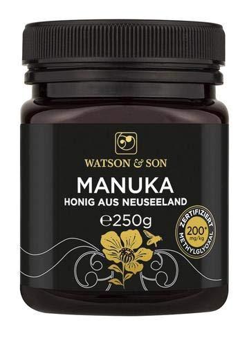 Watson & Son Manuka Honig MGO 200+ | Premium Qualität aus Neuseeland (250...
