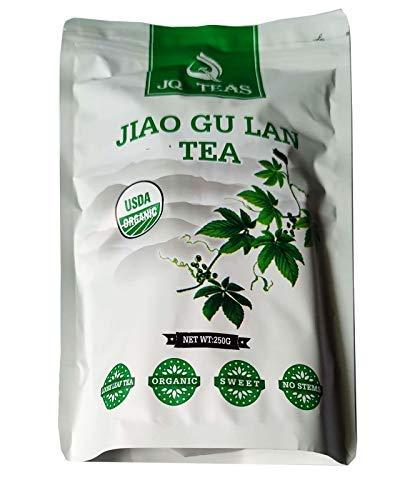 JQ 500g Trocken Sieben Blätter Jiaogulan (Natürliche Süße)Ohne...