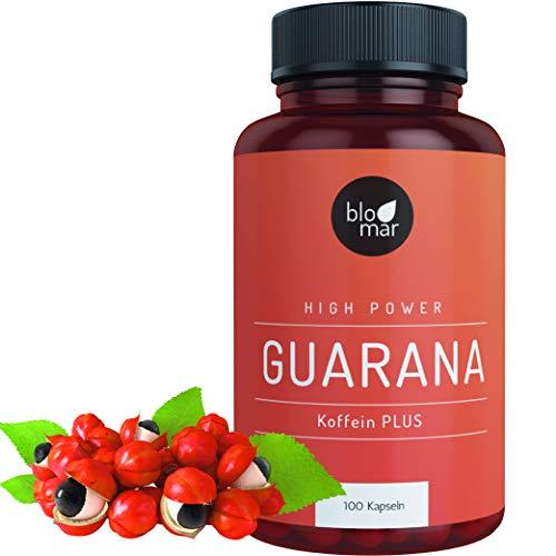 Guarana Kapseln Koffein PLUS - Kraftvoll & Effektiv - High Power Energizer...