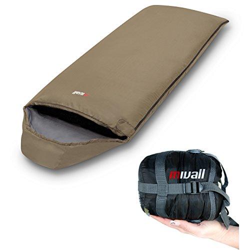 Mivall Patrol Deckenschlafsack, Ultraleicht mit kleinstem Packmaß...