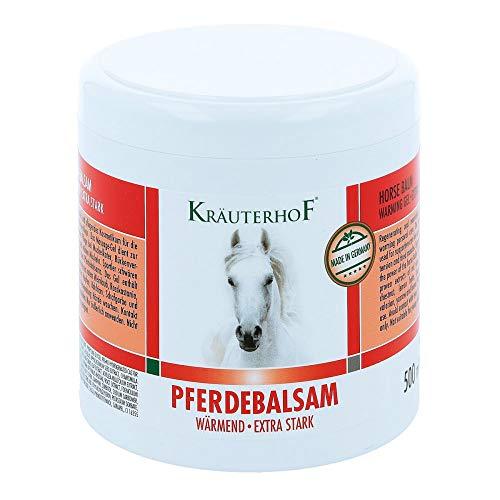 Kräuterhof Pferdebalsam wärmend - Extra stark 500ml - Massagegel