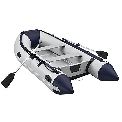 ArtSport Schlauchboot 3,20 m für 4 Personen mit 2 Sitzbänke & Aluboden...