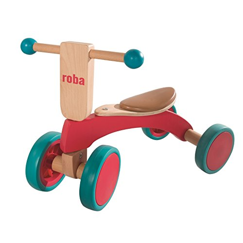 roba Holz Rutscher, Kinderfahrzeug aus Holz, Kleinkind Laufrad/Sitzroller...