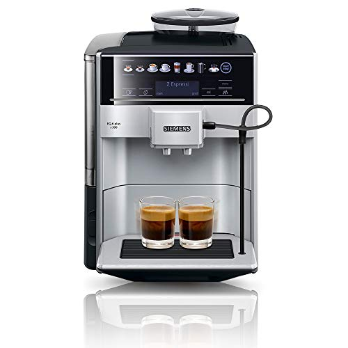 Siemens EQ.6 plus s300 Kaffeevollautomat TE653501DE, Speicherung Profile,...