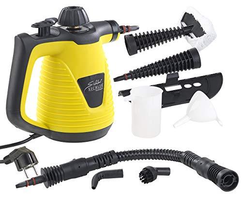 Sichler Haushaltsgeräte Handdampfreiniger: Tragbarer Dampfreiniger mit...