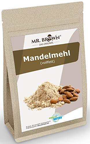 Mandelmehl vollfett, glutenfrei, vegan, Mandel gemahlen - gemahlene Mandeln...