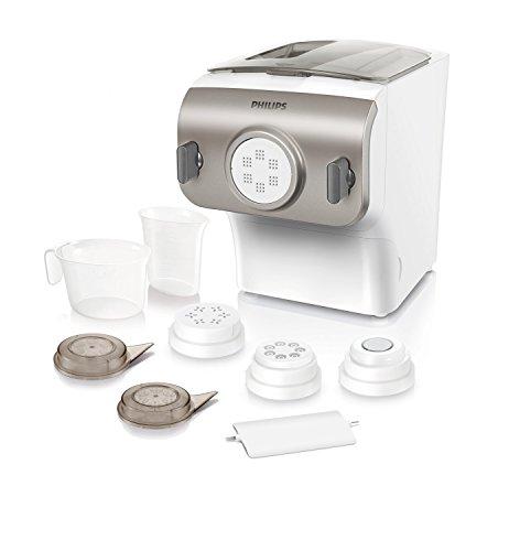 Philips HR2355/12 Pastamaker, Automatisches Mischen, Kneten und Ausgeben,...