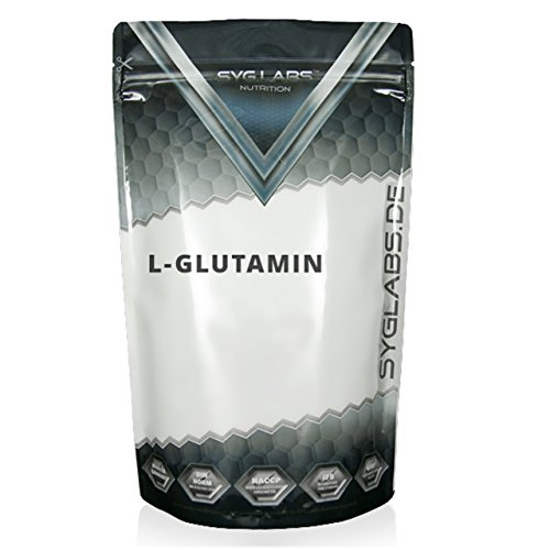 Syglabs Nutrition Nutrition L-Glutamin Pulver, 1er Pack (1 x 1 kg)