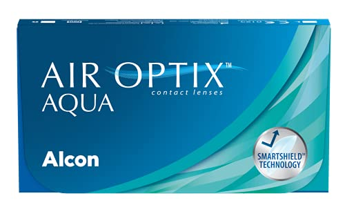 Air Optix Aqua Monatslinsen weich, 6 Stück / BC 8.6 mm / DIA 14.2 / -1,75...