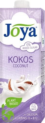 JOYA Kokos Drink, 10er Pack (10 x 1 L) | laktosefrei | pflanzlicher Drink |...