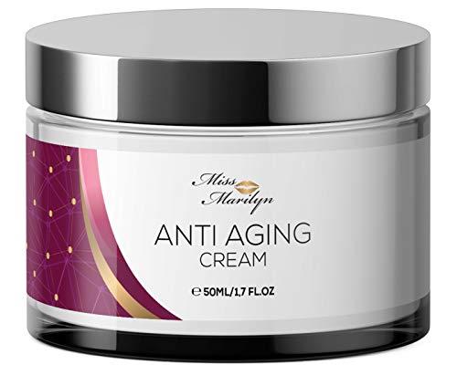 Anti-Aging Creme & Anti Falten Creme hochdosiert - Feuchtigkeitscreme von...