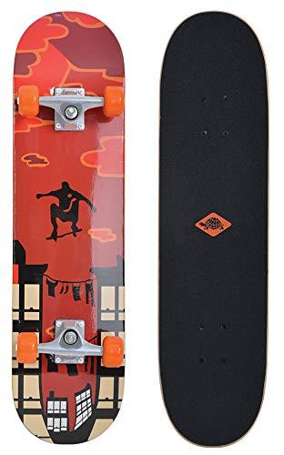 Schildkröt Skateboard Kicker 31, Komplett-Board mit tollen Features für...