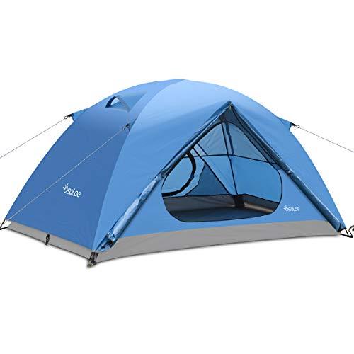 Osaloe Camping Zelt 1-2 Personen, Wasserdichtes und Winddicht Ultralight...