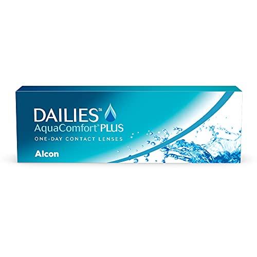 DAILIES AquaComfort Plus 1-Tages-Kontaktlinsen, 30 Stück, BC 8.7 mm, DIA...
