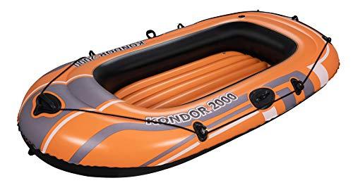 Bestway Schlauchboot Kondor 2000, für 1 Erwachsenen und 1 Kind, 188 x 98 x...